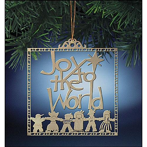 Joy to the World Ornament - 24/PK