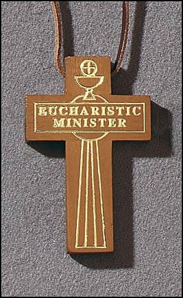 Eucharistic Minister Cross Pendant - 6/pk