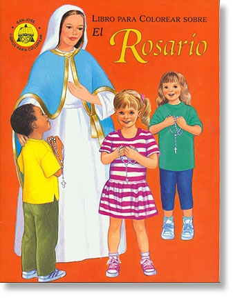 El Rosario (The Rosary Coloring Book)