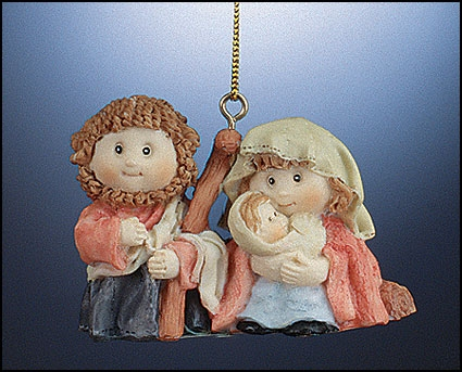 Nativity Ornament - 12/pk