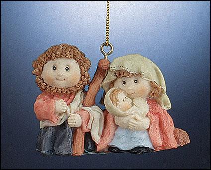 Nativity Ornament - 12/pk