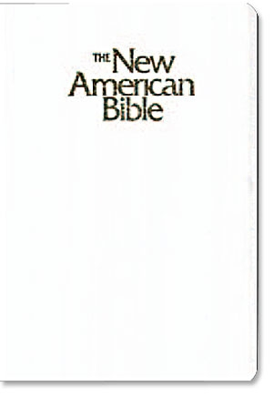 St. Joseph New American Bible (NABRE) Gift & Award Edition - White