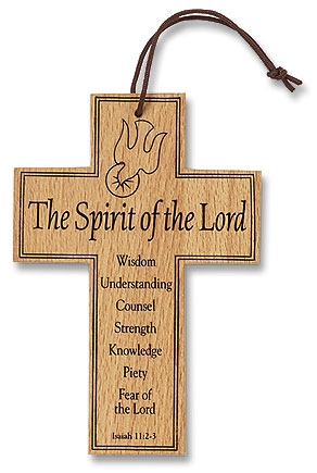 Confirmation Wood Prayer Cross - 12/pk