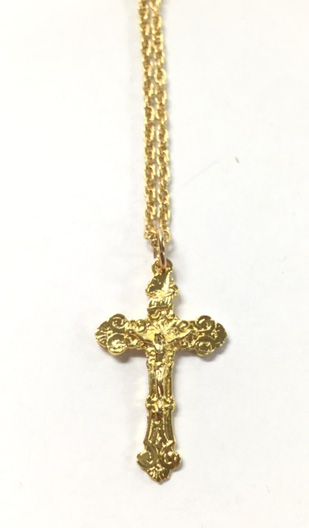 Gold Plated Crucifix