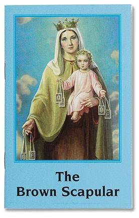 Brown Scapular Book - 24/pk