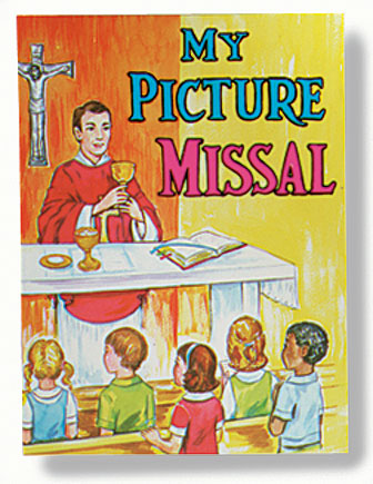 St. Joseph Picture Book - My Picture Missal - 10/pk