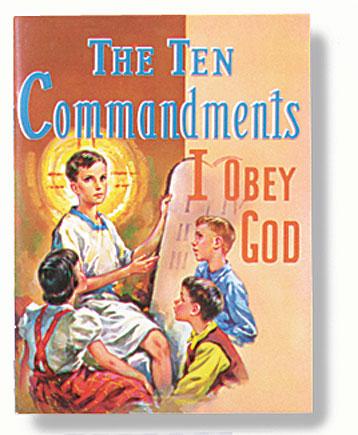 St. Joseph Picture Book - The Ten Commandments - 10/pk