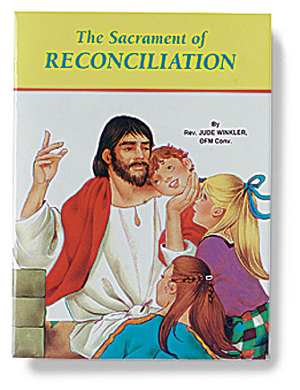 St. Joseph Picture Book - The Sacrament of Reconciliation - 10/pk