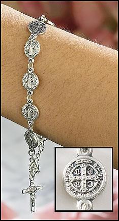St Benedict Bracelet