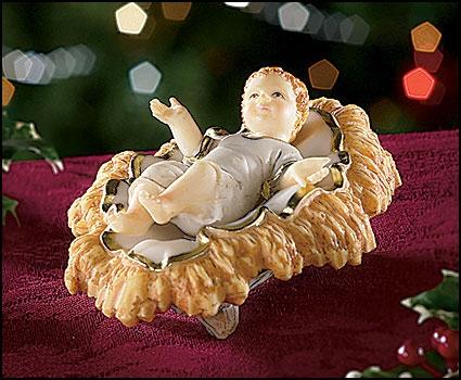 Infant Jesus in Manger - 24/PK
