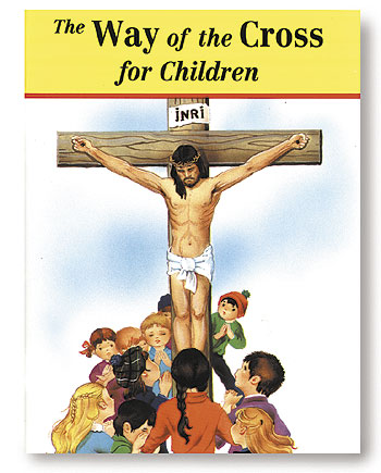 St. Joseph Picture Book - The Way of the Cross for Children - 10/pk