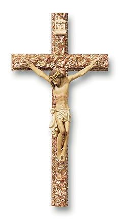 "8"" Tomaso Ornate Crucifix"