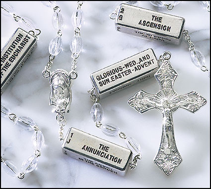 Clear Mysteries Rosary