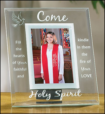 Confirmation: Come Holy Spirit Photo Frame