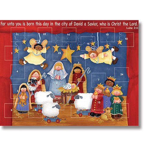 Born this Day Advent Calendar - 12/pk