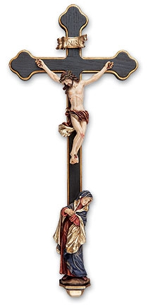 Sorrowful Mother Crucifix