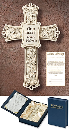 Tomaso Home Blessing Cross