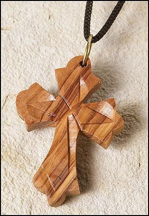 Budded Cross Pendant