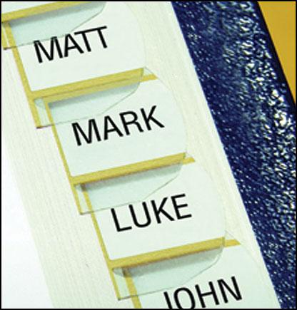 Separadores Bíblicos Bible Tabs