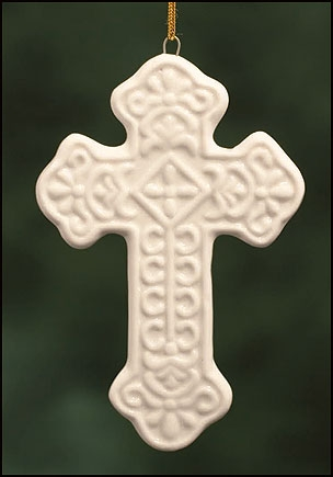 Cross Ornament  - 12/pk