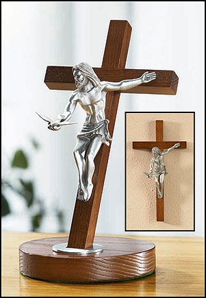 Gifts of the Spirit Standing Crucifix