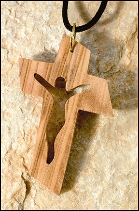 Cut-Out Crucifix Pendant