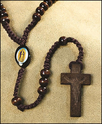 Our Lady of Guadalupe Cord Rosary