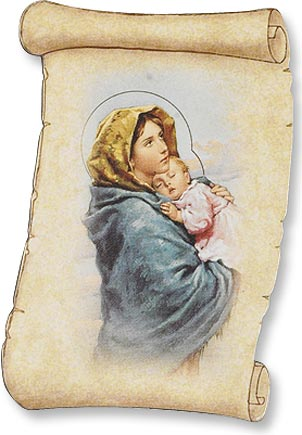Madonna of the Street Magnet