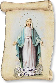 Our Lady of the Miraculous Medal Magnet