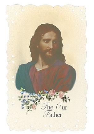 Head of Christ Holy Card - 24/PK