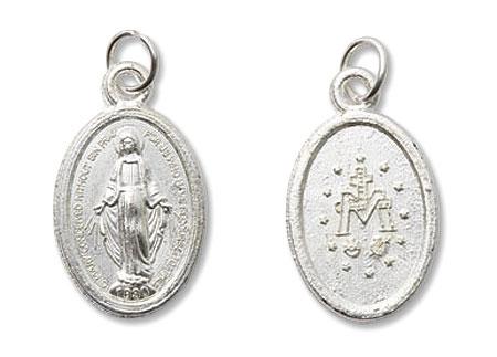 Mini Devotional Miraculous Medal - 100/pk
