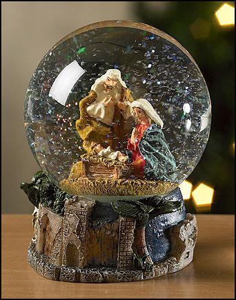 Nativity Waterglobe