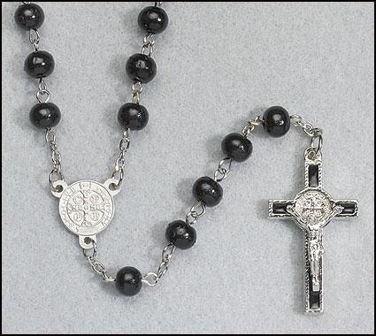 St Benedict Rosary - 12/pk