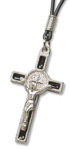 St Benedict Crucifix Pendant - 24/pk