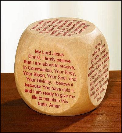 First Communion Prayer Cube™