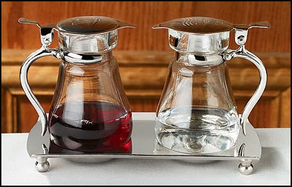 Cruet Set with Tray