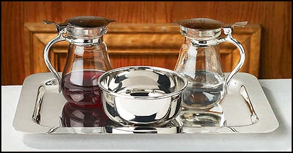 Cruet Set with Tray and Bowl