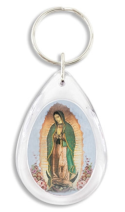 Our Lady of Guadalupe Devotional Key Chain - 24/pk