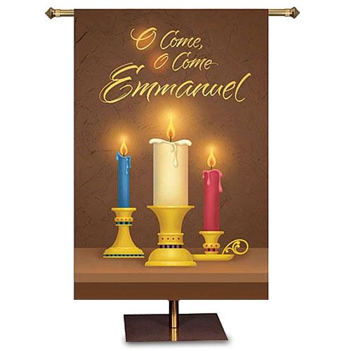 O Come, O Come, Emmanuel Banner