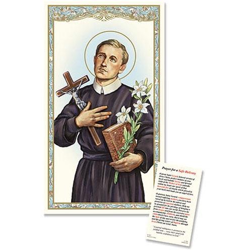 Saint Gerard Laminated Holy Card