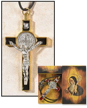 Creed® Black St Benedict Pendant - 6/pk