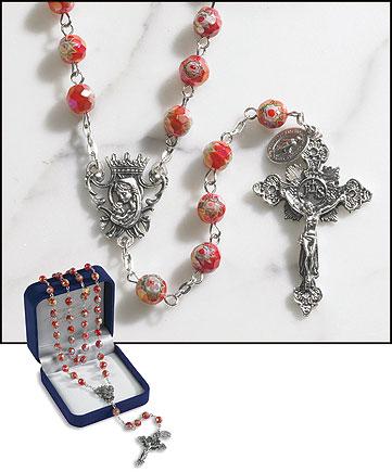 Ruby Murano Rosary