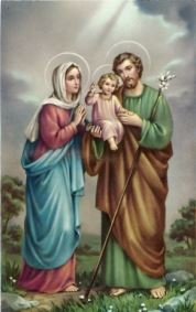 Post Holy Family - Print