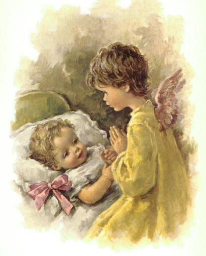 Guardian Angel Baby - Print