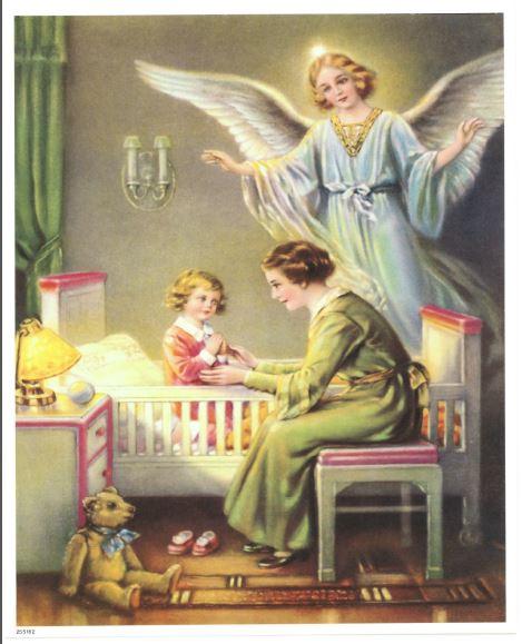 Guard Angel Girl Print