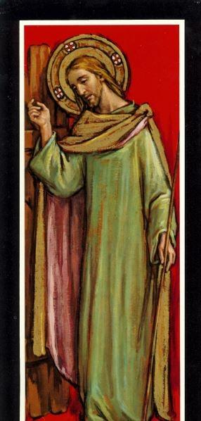 Christ Knocking - Print