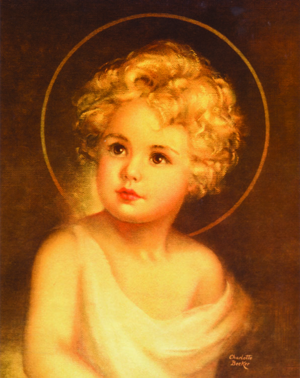 Christ Child Traditional Catholic Prints - 20/PK