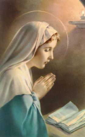 Madonna Praying - Print