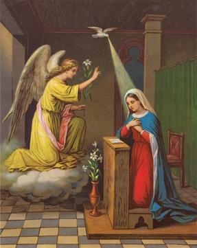 Annunciation - Print