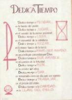 Dedica Tiempo - Print